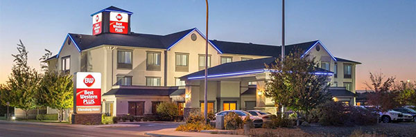 exterior of Best Western Plus Ellensburg Hotel