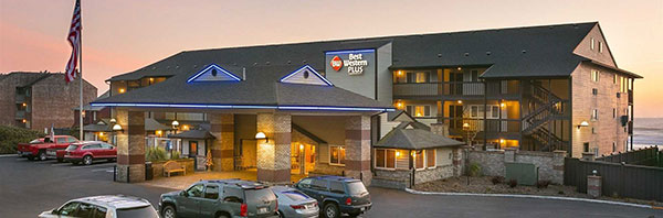 exterior of Best Western Plus Lincoln Sands Oceanfront Suites Lincoln City