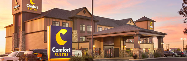 exterior of Comfort Suites Moses Lake
